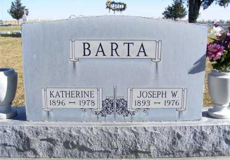BARTA, JOSEPH W. - Box Butte County, Nebraska | JOSEPH W. BARTA - Nebraska Gravestone Photos