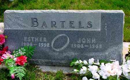 BARTELS, ESTHER - Box Butte County, Nebraska | ESTHER BARTELS - Nebraska Gravestone Photos