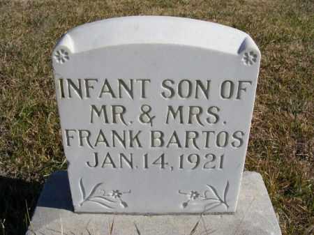 BARTOS, INFANT SON - Box Butte County, Nebraska | INFANT SON BARTOS - Nebraska Gravestone Photos
