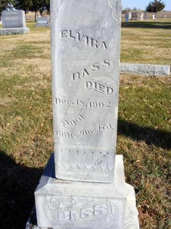 BASS, ELVIRA - Box Butte County, Nebraska | ELVIRA BASS - Nebraska Gravestone Photos