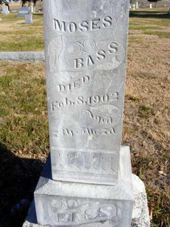 BASS, MOSES - Box Butte County, Nebraska | MOSES BASS - Nebraska Gravestone Photos