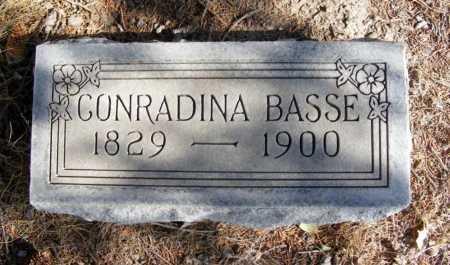BASSE, CONRADINA - Box Butte County, Nebraska   CONRADINA BASSE - Nebraska Gravestone Photos