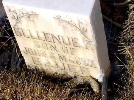 BAUER, BILLENUE F. - Box Butte County, Nebraska   BILLENUE F. BAUER - Nebraska Gravestone Photos