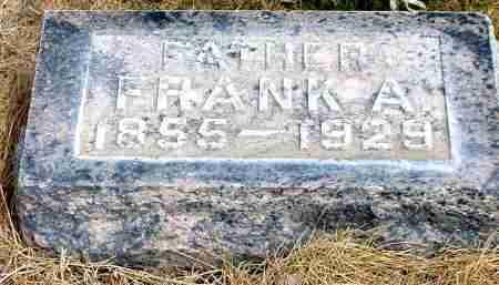 BAUER, FRANK A. - Box Butte County, Nebraska | FRANK A. BAUER - Nebraska Gravestone Photos
