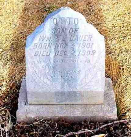 BAUER, OTTO - Box Butte County, Nebraska | OTTO BAUER - Nebraska Gravestone Photos