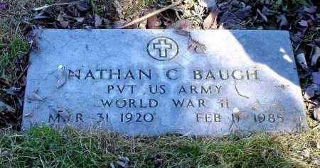 BAUGH, NATHAN C. - Box Butte County, Nebraska | NATHAN C. BAUGH - Nebraska Gravestone Photos