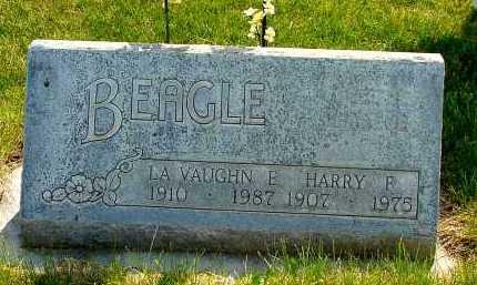 BEAGLE, LA VAUGHN E. - Box Butte County, Nebraska | LA VAUGHN E. BEAGLE - Nebraska Gravestone Photos