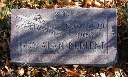 BEDIENT, ROY ALAN - Box Butte County, Nebraska | ROY ALAN BEDIENT - Nebraska Gravestone Photos