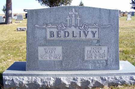 BEDLIVY, MARY - Box Butte County, Nebraska | MARY BEDLIVY - Nebraska Gravestone Photos