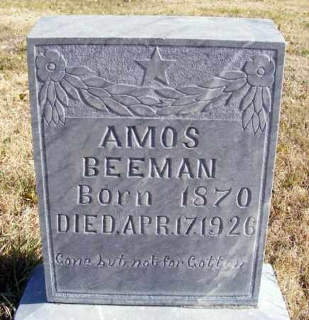BEEMAN, AMOS - Box Butte County, Nebraska | AMOS BEEMAN - Nebraska Gravestone Photos