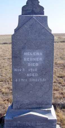 BEHNER, HELENA - Box Butte County, Nebraska | HELENA BEHNER - Nebraska Gravestone Photos