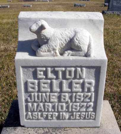 BELLER, ELTON - Box Butte County, Nebraska | ELTON BELLER - Nebraska Gravestone Photos