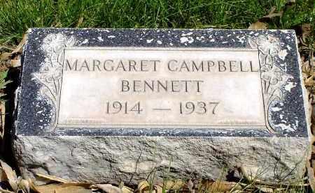 CAMPBELL BENNETT, MARGARET - Box Butte County, Nebraska   MARGARET CAMPBELL BENNETT - Nebraska Gravestone Photos