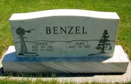 BENZEL, MARIE - Box Butte County, Nebraska | MARIE BENZEL - Nebraska Gravestone Photos