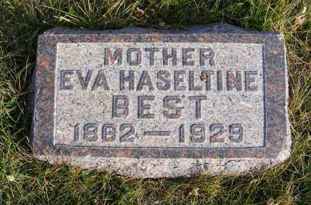 BEST, EVA - Box Butte County, Nebraska | EVA BEST - Nebraska Gravestone Photos