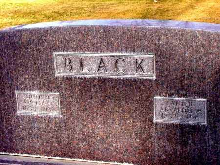 BLACK, ABSALOM W. - Box Butte County, Nebraska | ABSALOM W. BLACK - Nebraska Gravestone Photos