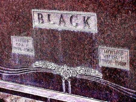 BLACK, HILDA E. - Box Butte County, Nebraska | HILDA E. BLACK - Nebraska Gravestone Photos