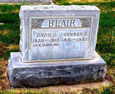 BLAIR, HANNAH Z. - Box Butte County, Nebraska | HANNAH Z. BLAIR - Nebraska Gravestone Photos