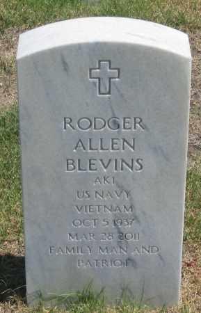 BLEVINS, RODGER  ALLEN - Box Butte County, Nebraska   RODGER  ALLEN BLEVINS - Nebraska Gravestone Photos