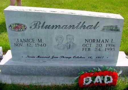 BLUMANTHAL, JANICE M. - Box Butte County, Nebraska | JANICE M. BLUMANTHAL - Nebraska Gravestone Photos