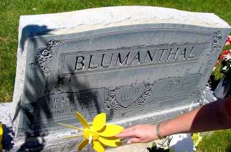 BLUMANTHAL, FRANCES L. - Box Butte County, Nebraska | FRANCES L. BLUMANTHAL - Nebraska Gravestone Photos