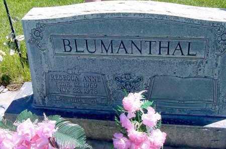 BLUMANTHAL, REBECCA ANNE - Box Butte County, Nebraska   REBECCA ANNE BLUMANTHAL - Nebraska Gravestone Photos