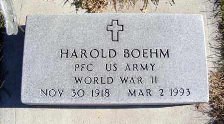 BOEHM, HAROLD - Box Butte County, Nebraska | HAROLD BOEHM - Nebraska Gravestone Photos