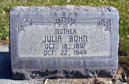 BOHN, JULIA - Box Butte County, Nebraska | JULIA BOHN - Nebraska Gravestone Photos