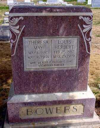 BOWERS, LOUIS HERBERT - Box Butte County, Nebraska | LOUIS HERBERT BOWERS - Nebraska Gravestone Photos