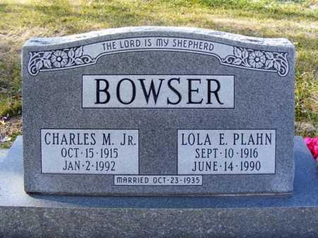 BOWSER, CHARLES M. JR. - Box Butte County, Nebraska | CHARLES M. JR. BOWSER - Nebraska Gravestone Photos
