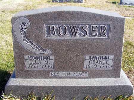 BATTLES BOWSER, ELLA M. - Box Butte County, Nebraska | ELLA M. BATTLES BOWSER - Nebraska Gravestone Photos