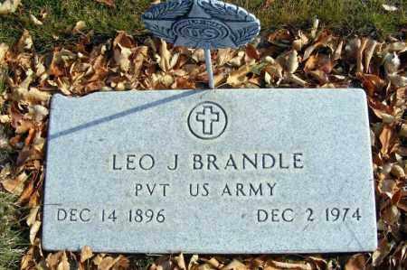 BRANDLE, LEO J. - Box Butte County, Nebraska | LEO J. BRANDLE - Nebraska Gravestone Photos