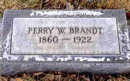 BRANDT, PERRY W. - Box Butte County, Nebraska | PERRY W. BRANDT - Nebraska Gravestone Photos
