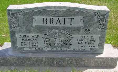 BRATT, CORA MAE - Box Butte County, Nebraska | CORA MAE BRATT - Nebraska Gravestone Photos