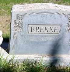 BREKKE, FAMILY - Box Butte County, Nebraska | FAMILY BREKKE - Nebraska Gravestone Photos