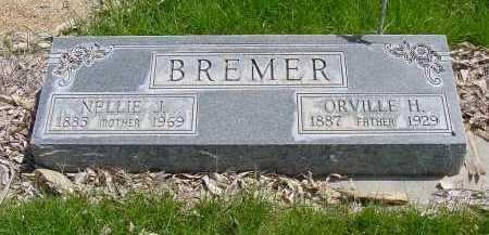 BREMER, NELLIE J. - Box Butte County, Nebraska | NELLIE J. BREMER - Nebraska Gravestone Photos