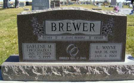PROCHAZKA BREWER, DARLENE M. - Box Butte County, Nebraska | DARLENE M. PROCHAZKA BREWER - Nebraska Gravestone Photos