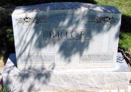 BRICE, MARY A. - Box Butte County, Nebraska   MARY A. BRICE - Nebraska Gravestone Photos