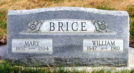 BRICE, MARY - Box Butte County, Nebraska | MARY BRICE - Nebraska Gravestone Photos