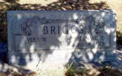 BRIGGS, VERA W. - Box Butte County, Nebraska   VERA W. BRIGGS - Nebraska Gravestone Photos