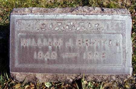 BRITTON, WILLIAM J. - Box Butte County, Nebraska | WILLIAM J. BRITTON - Nebraska Gravestone Photos