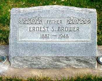 BROWER, ERNEST S. - Box Butte County, Nebraska | ERNEST S. BROWER - Nebraska Gravestone Photos