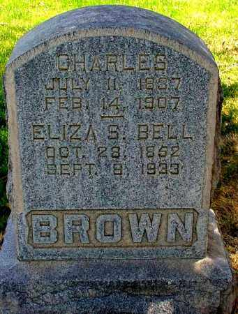 BROWN, CHARLES - Box Butte County, Nebraska | CHARLES BROWN - Nebraska Gravestone Photos