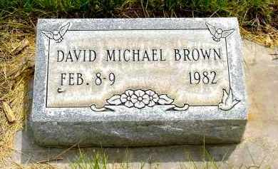 BROWN, DAVID MICHAEL - Box Butte County, Nebraska | DAVID MICHAEL BROWN - Nebraska Gravestone Photos