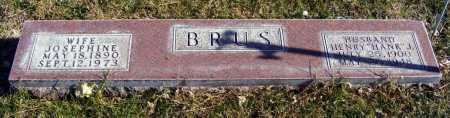 "BRUS, HENRY ""HANK"" J. - Box Butte County, Nebraska | HENRY ""HANK"" J. BRUS - Nebraska Gravestone Photos"