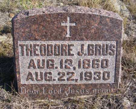 BRUS, THEODORE J. - Box Butte County, Nebraska | THEODORE J. BRUS - Nebraska Gravestone Photos