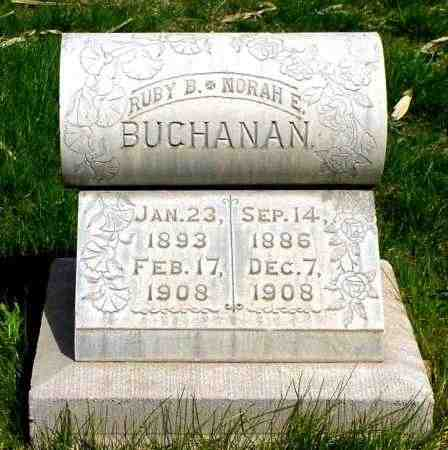 BUCHANAN, NORAH E. - Box Butte County, Nebraska | NORAH E. BUCHANAN - Nebraska Gravestone Photos