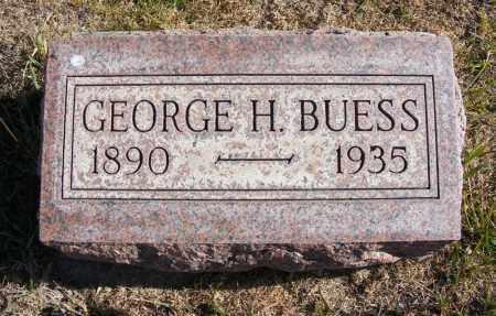 BUESS, GEORGE H. - Box Butte County, Nebraska   GEORGE H. BUESS - Nebraska Gravestone Photos