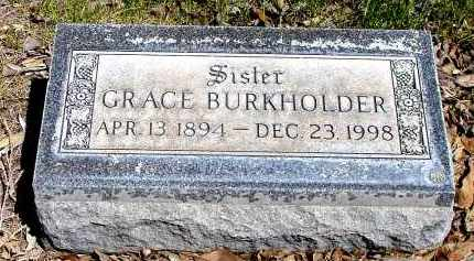 BURKHOLDER, GRACE - Box Butte County, Nebraska | GRACE BURKHOLDER - Nebraska Gravestone Photos