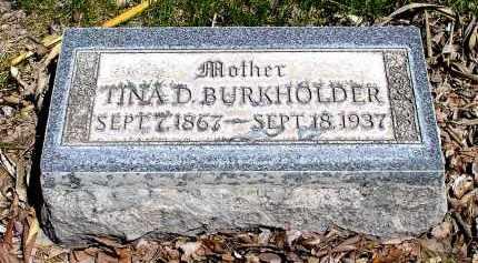 BURKHOLDER, TINA D. - Box Butte County, Nebraska | TINA D. BURKHOLDER - Nebraska Gravestone Photos